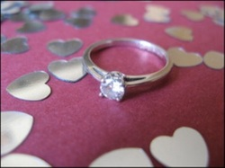 Ring with hearts