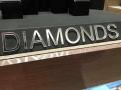Diamonds display